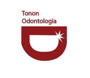 logotipo tonon odontologia dentista na penha